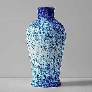 Glazed Blue