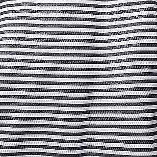 Striped black